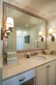 Bathroom Mirror Frames by Wood Framed Bathroom Mirrors U2013 Harpsounds Co
