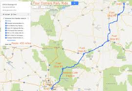 Map A Driving Route by Riding Maps Foothills H O G Chandler Arizona
