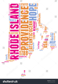 Usa State Map by Rhode Island Usa State Map Vector Stock Vector 170726054