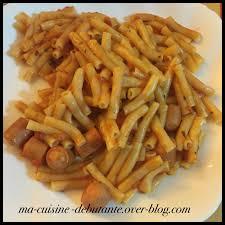 cuisiner des saucisses de strasbourg macaronis aux saucisses de strasbourg ma cuisine débutante
