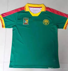 2018 cameroon national team soccer jerseys customized personalized