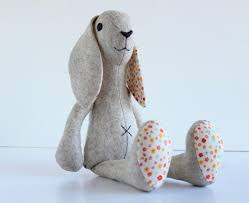 stuffed bunny bunny rabbit sewing pattern stuffed sewing pattern