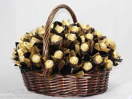 chocolate basket delivery philgifts 100 ferrero basket
