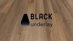 Thermal Underlay For Laminate Flooring Lvt Black Underlay Youtube