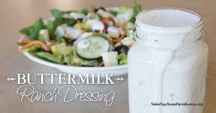 back to basics buttermilk ranch dressing texas farm bureau