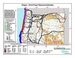 wind power in oregon