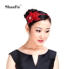 fascinators hair accessories shanfu flower headband sinamay hair fascinators women hair