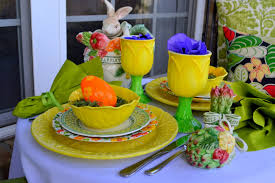 celebrating spring tablescape worthing court