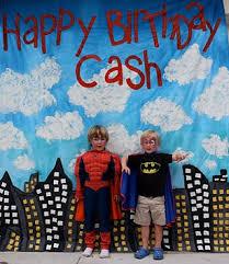 Superhero Backdrop Party Frosting Comic Superhero Party Ideas Inspiration