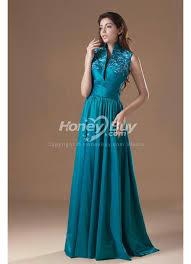 teal wedding dresses up collar floor length teal wedding reception dress