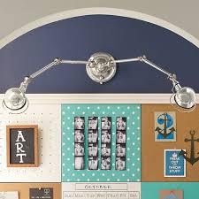 pottery barn teen lighting hi light dual wall sconce pbteen kids bathroom pinterest