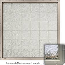Blinds For French Doors Lowes Bathroom Great Lowes Glass Block For Your Best Bathroom