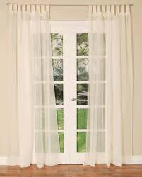 Simply Blinds Hornchurch White Tab Top Voile Panel Free Uk Delivery Terrys Fabrics