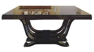 Esszimmertisch Rund Antik Design Beistelltisch Original Art Deco 50 Cm Kupfer Schwarz