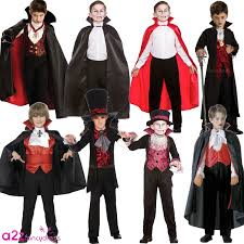 royal vampire count dracula halloween deluxe cape kids boys fancy