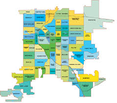 Zip Code By Map Denver Neighborhood Map L Find Your Way Around Denver L