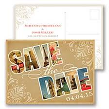 Postcard Save The Dates Save The Date Postcards Invitations By Dawn