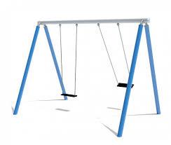 Double Swing Fantallica Double Swing Luna Eibe Playground Equipment Specialists