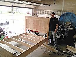 farmhouse bedroom furniture reclaimed wood headboard diy farmhouse