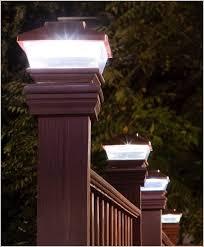 low voltage vinyl fence post lights lovely solar lights for vinyl fence posts attractive designs