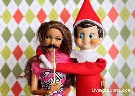 Barbie Photo Booth Elf Photo Booth Fun Printable Mini Elf Photo Props