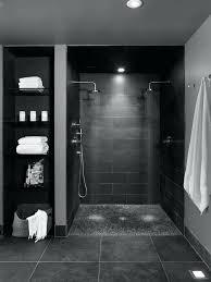 black and bathroom ideas tile bathroom large scale brown shower tiles brown