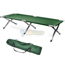 Portable Folding Bed Military Cot Ebay