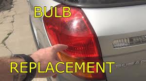 2008 subaru outback brake light bulb how to replace brake bulb on a 2005 subaru outback youtube