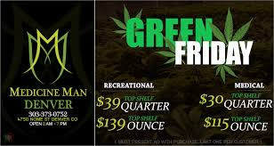 colorado dispensaries celebrate green friday