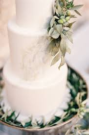 wedding cake with olive leaves elizabeth anne designs the
