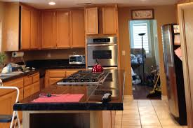 kitchen cabinets paint job residential oxnard california