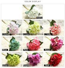 bulk artificial flowers china artificial hydrangeas cheap plant canada wedding bulk