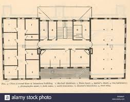 40285 plan of secont floor of laboratory building 1 six bed stock