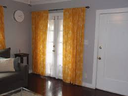 White And Yellow Curtains Awesome Floral Yellow Living Room Curtain Design Applied On The