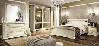 White Ash Bedroom Furniture Treviso Night Composition 3 In White Ash Camel Traditional