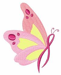 butterflies for breast cancer embroidery designs machine