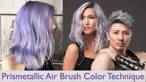 armstrong mccall hair show 2015 prismetallic air brush color technique youtube