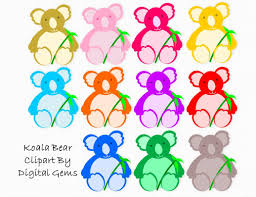 cute koala bear clip art 47
