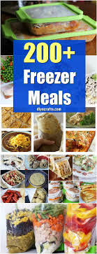 cuisine easy orens 200 easy to freezer meals that save you and diy