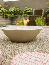 Landscape Fire Pits by Oval Fire Bowls Landscape Midcentury With Outdoor Fire Pit