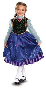 delux halloween costumes disney frozen deluxe anna toddler child costume