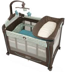 Pink And Brown Graco Pack N Play With Changing Table Graco Pack And Play With Changing Table Best Table Decoration
