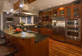 wood stained kitchen cabinets 3 tips for using wood stains on your kitchen cabinets