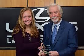 lexus richmond parts lexus of richmond leadership award week 9 jillian butler lexus