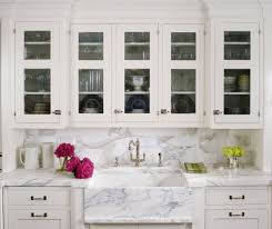 White Kitchen Cabinets With Glass Doors 85 Types Delightful Knobs On Glass Cabinet Backsplash Calcutta