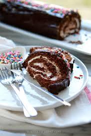 chocolate swiss roll cake recipe chocolate cakes chocolate