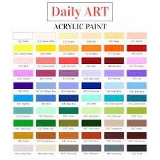 acrylic paint u2013 daily art