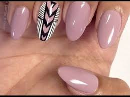 oval nail designs youtube