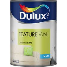 dulux feature wall matt 1 25l luscious lime painting