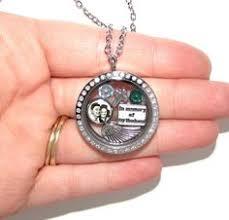 in loving memory lockets in memory of floating charm locket memorial pendant necklace
